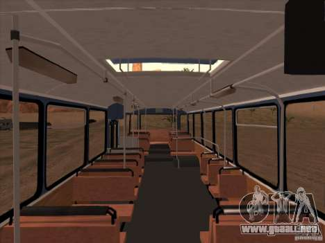 MAN SL200 Exclusive v.1.00 para vista inferior GTA San Andreas