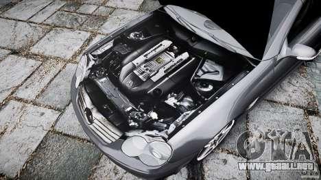Mercedes Benz SL65 AMG para GTA 4 vista desde abajo