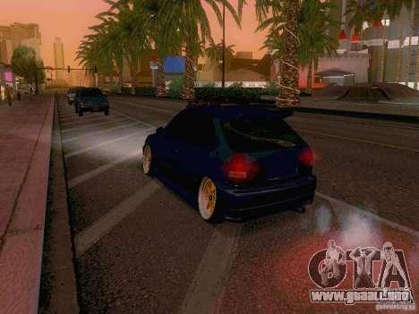 Honda Civic JDM Hatch para vista lateral GTA San Andreas