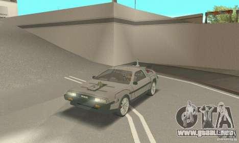 DeLorean DMC-12 (BTTF3) para GTA San Andreas