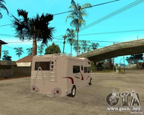 Chevrolet Camper para GTA San Andreas vista posterior izquierda