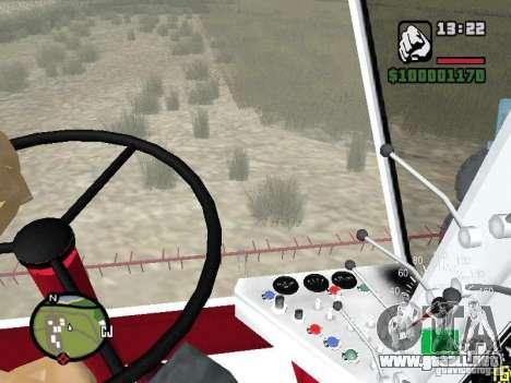 Cosechadora Niva SK-5 para visión interna GTA San Andreas