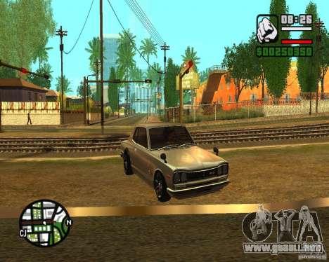 ENBSeries 2012 para GTA San Andreas tercera pantalla