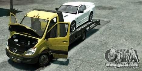 Mercedes-Benz Sprinter 3500 para GTA 4 visión correcta