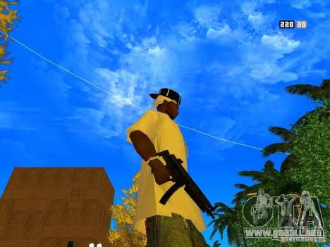 New Weapon Pack para GTA San Andreas novena de pantalla