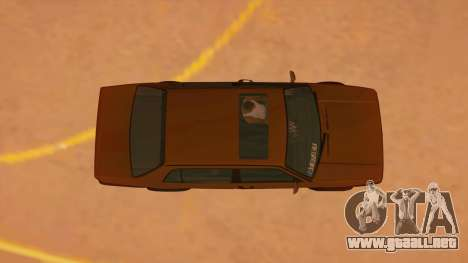 Volkswagen Jetta Mk2 para visión interna GTA San Andreas