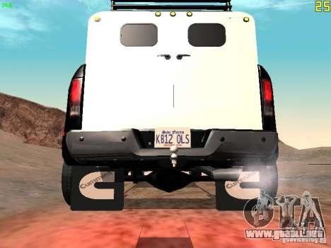 Dodge Ram 3500 Unmarked para la visión correcta GTA San Andreas