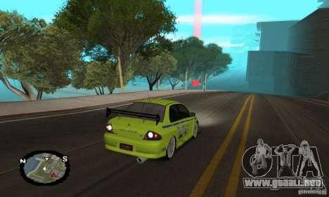 Carreras callejeras para GTA San Andreas twelth pantalla