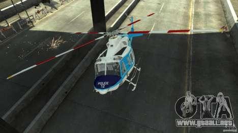 NYPD Bell 412 EP para GTA 4 vista interior