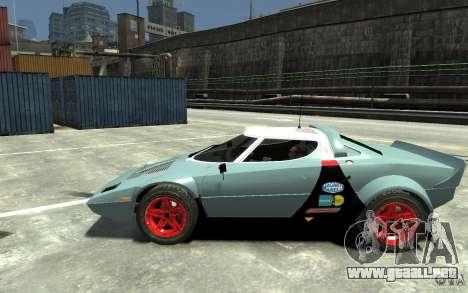 Lancia Stratos para GTA 4 left