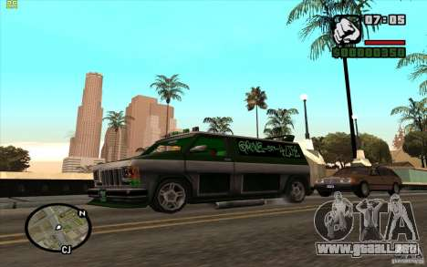 Grove Street Gang Burrito para GTA San Andreas