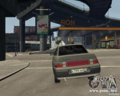 VAZ-21103 para GTA 4 Vista posterior izquierda