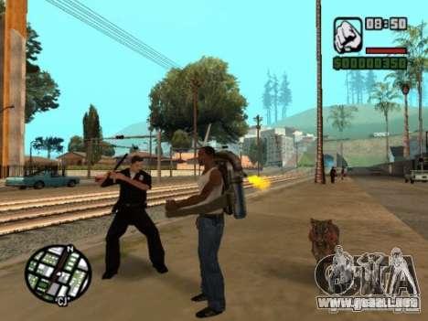 Animals in Los Santos para GTA San Andreas sucesivamente de pantalla