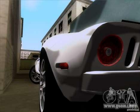 Ford GT para visión interna GTA San Andreas