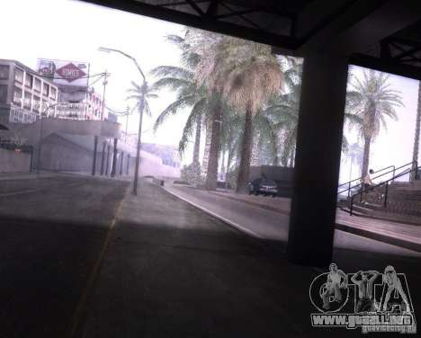 ENBSeries para Pack Ultra Vegetetions para GTA San Andreas sucesivamente de pantalla