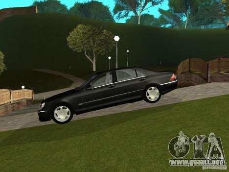 Mercedes-Benz S600 Biturbo 2003 v2 para GTA San Andreas