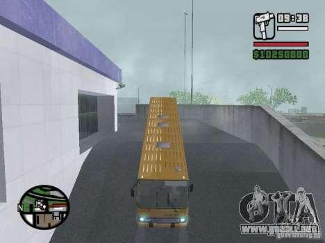 IKARUS 260.37 para GTA San Andreas vista posterior izquierda