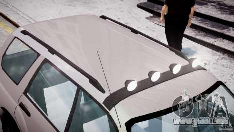 Subaru Forester v2.0 para GTA 4 interior