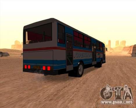 Autosan H10-11B Orenburg para la visión correcta GTA San Andreas