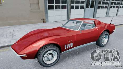 Chevrolet Corvette Stingray para GTA 4 left
