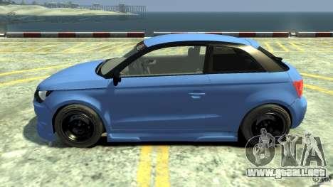 Audi A1 para GTA 4 left