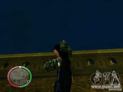El nuevo explosivo para GTA San Andreas segunda pantalla