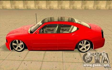 Dodge Charger RT 2010 para GTA San Andreas left