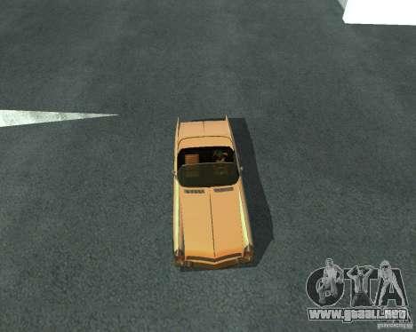 Peyote de GTA 4 para GTA San Andreas vista posterior izquierda