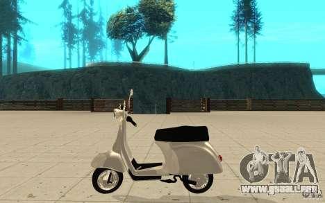 GTAIV EFLC Faggio Classic para GTA San Andreas left
