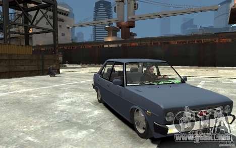 Tofas 131 Sahin para GTA 4 vista hacia atrás