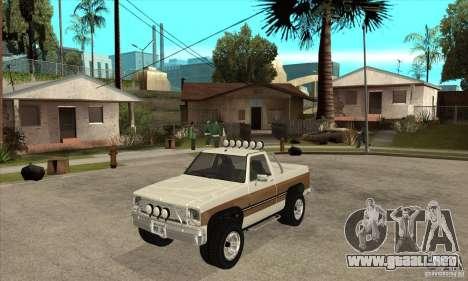 Ford Ranger para GTA San Andreas