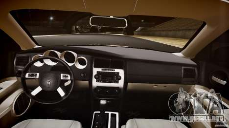 Dodge Charger RT Hemi 2007 Wh 1 para GTA 4 vista superior