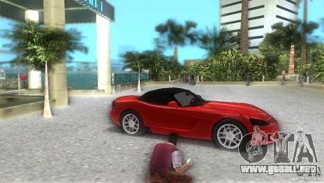 Dodge Viper SRT 10 Coupe para GTA Vice City visión correcta