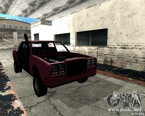 Derby Greenwood Killer para GTA San Andreas vista hacia atrás