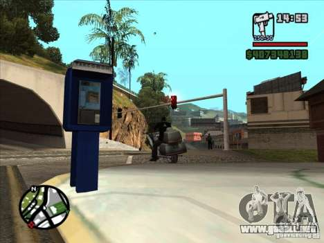 Pequeña trivia para GTA San Andreas sexta pantalla