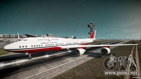 THY Air Plane para GTA 4 left