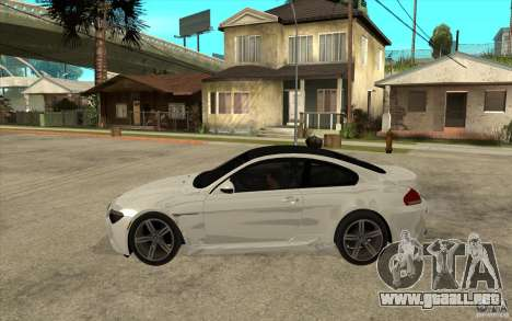 BMW M6 Coupe V 2010 para GTA San Andreas left