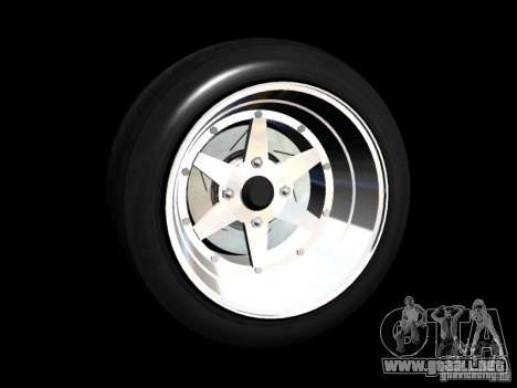 Old School Rims Pack para GTA San Andreas séptima pantalla