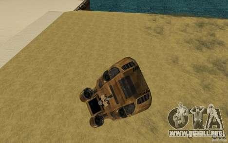 El vórtice del juego Command y Conquer Renegado para la visión correcta GTA San Andreas