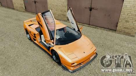 Lamborghini Diablo SV 1997 v4.0 [EPM] para GTA 4 vista desde abajo
