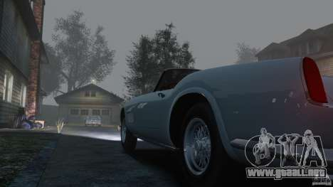 Ferrari 250 California 1957 para GTA 4 vista interior