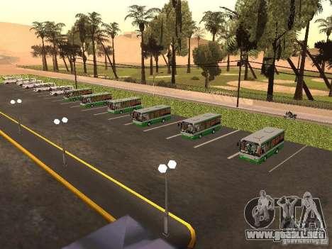 Bus 5 v. 1.0 para GTA San Andreas octavo de pantalla