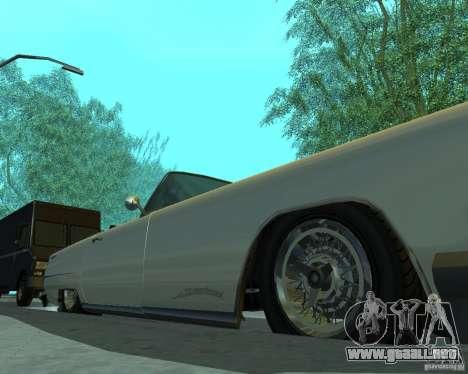 Peyote de GTA 4 para GTA San Andreas vista hacia atrás