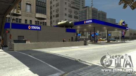 Statoil Petrol Station para GTA 4 tercera pantalla
