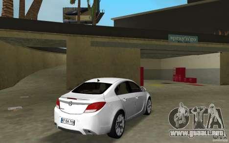 Opel Insignia para GTA Vice City visión correcta