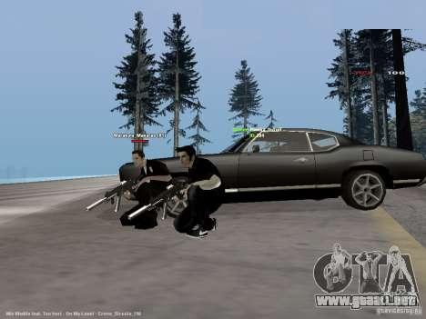 Black & White guns para GTA San Andreas segunda pantalla