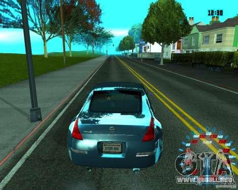 ENB by Makc para GTA San Andreas sucesivamente de pantalla