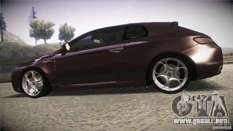 Alfa Romeo Brera Ti para GTA San Andreas left
