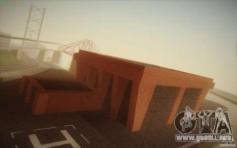 New SF Army Base v1.0 para GTA San Andreas quinta pantalla