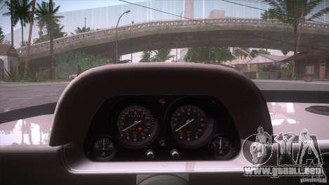 Ferrari F40 para vista inferior GTA San Andreas